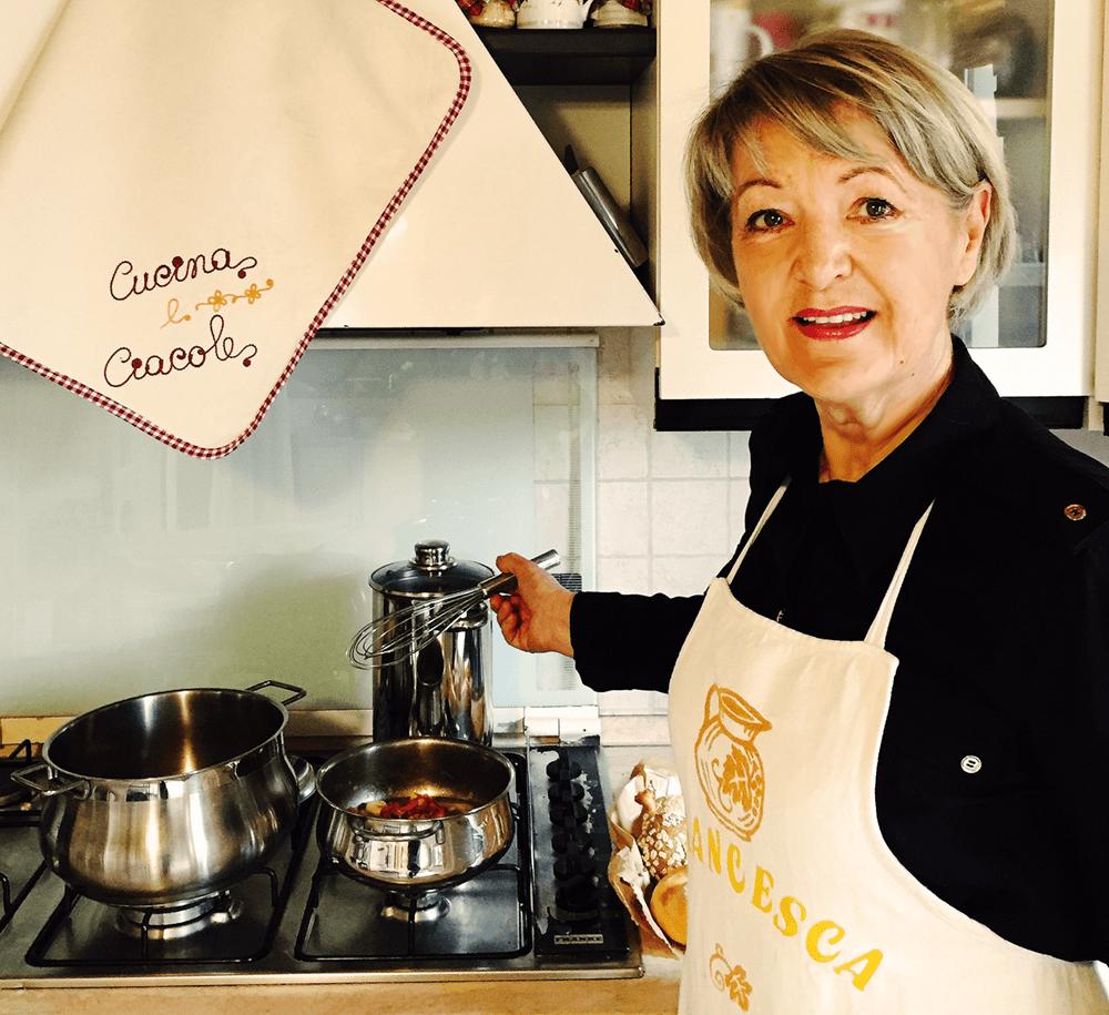 Francesca in cucina