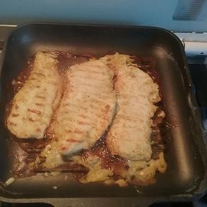 petto di pollo marinato1